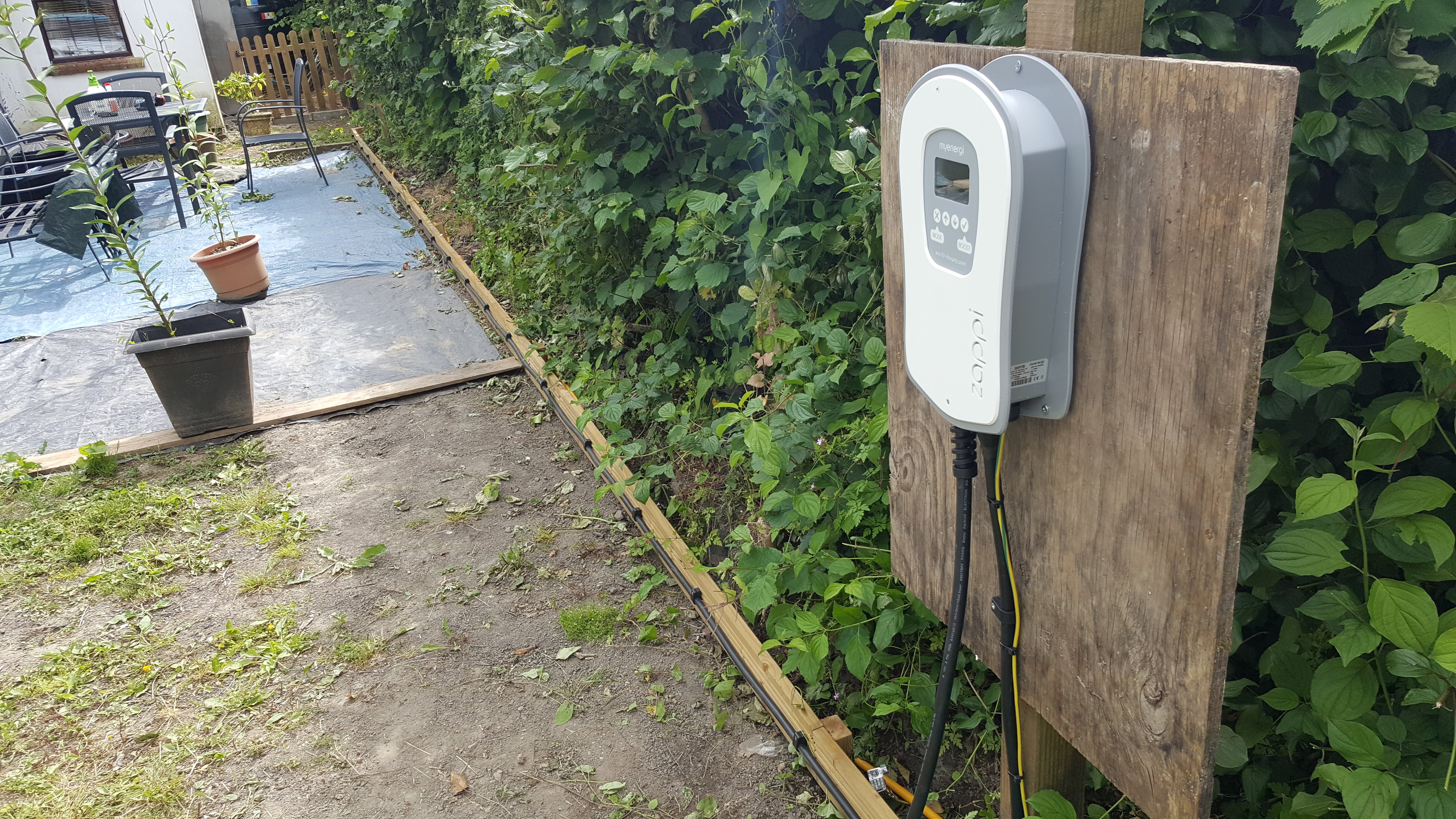 electric vehicle charging installation in cwmbran