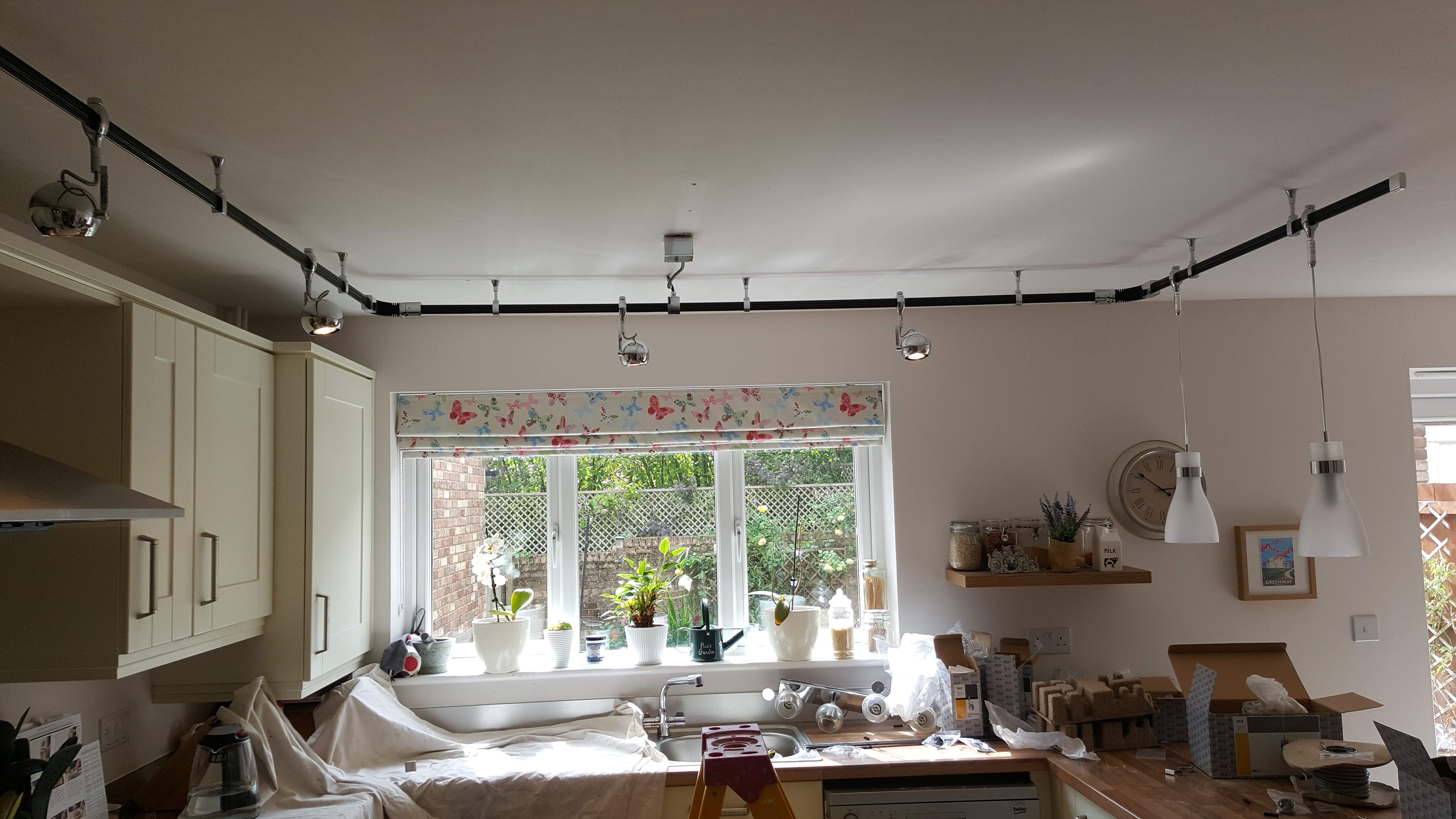 Kitchen lighting installer in cwmbran