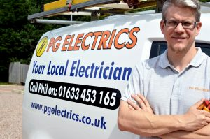 Phil Graham, Electrician in Wales
