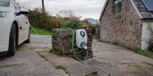 Electric car charger installer in Cwmbran Wales